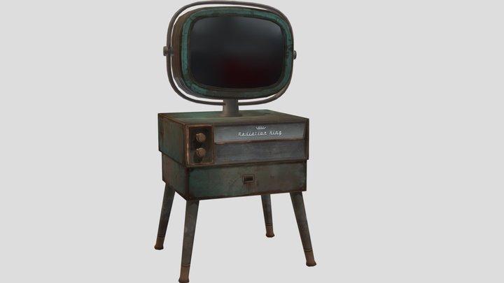 Fallout: Television Set 3D Model