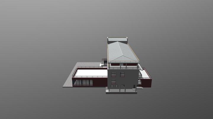 Turbaza 3D Model