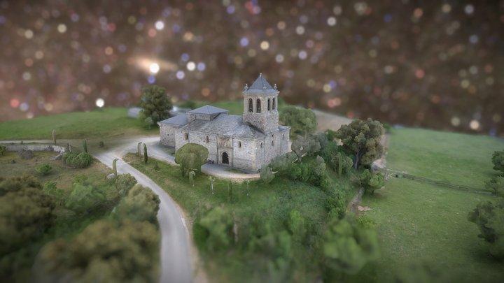 20180704 SKETCHFAB IGLESIA DE CAMPO 3D Model