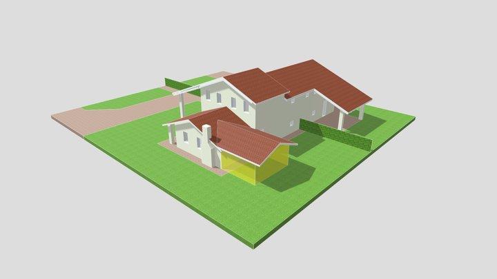Ampliamento Casa Bigolo 3D Model