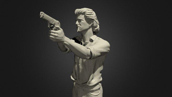 Mel Gibson 3D Model