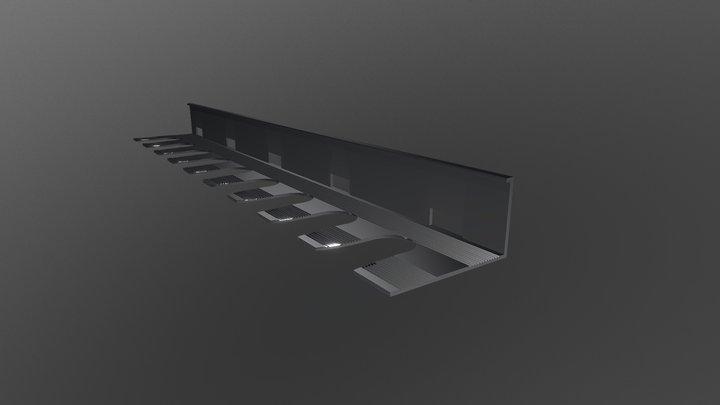 Cintrable perforé 3D Model