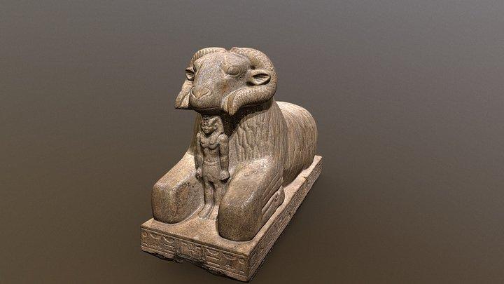 Amun Ram Ashmolean 3D Model