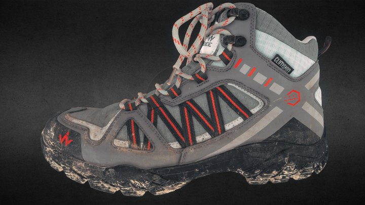 Left shoe - photogrammetry tests 3D Model