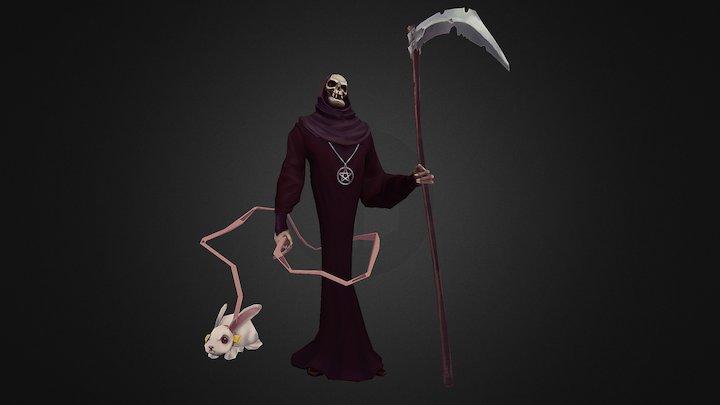 Personal project - Reaper 3D Model