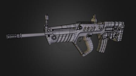Tavor 3D Model
