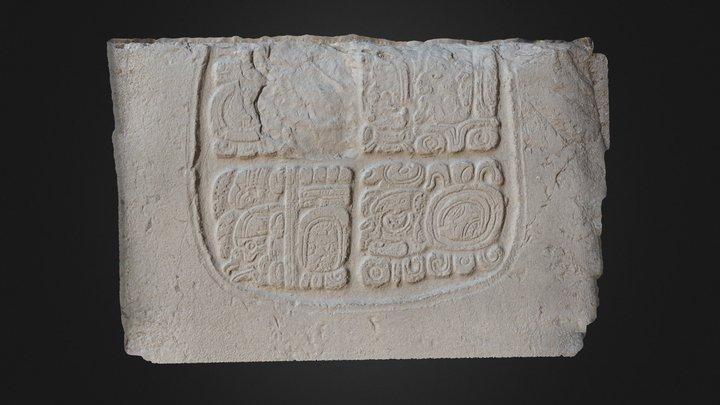 Xunantunich Glyph Panel 2