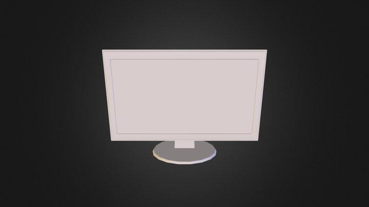 Benqgl2450hm 3D Model