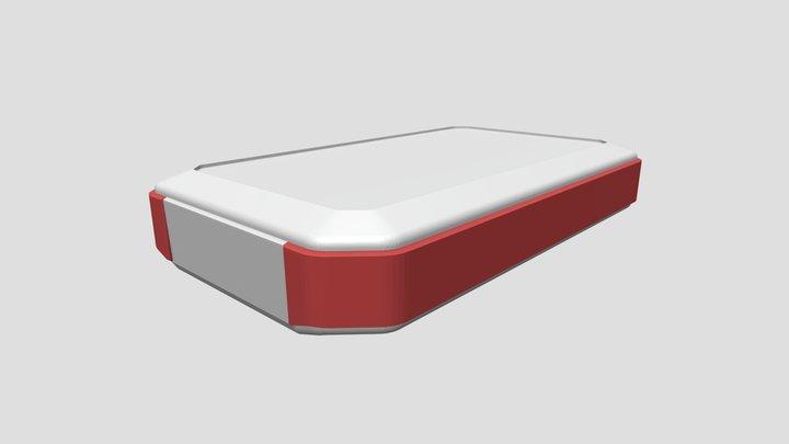 Waterproof hand held enclosure series WH14525M3 3D Model
