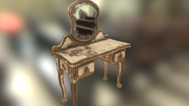 Old Vanity 3D Model