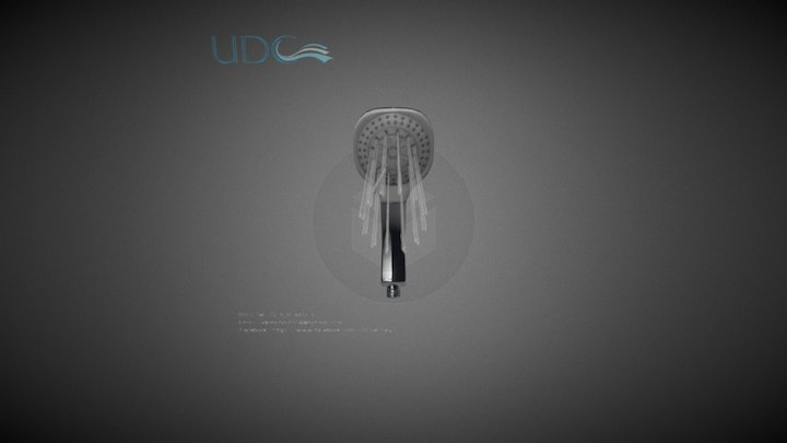 UDC Shower NO.975 3D Model