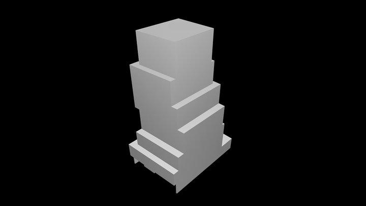 New Museum - Sanaa 3D Model