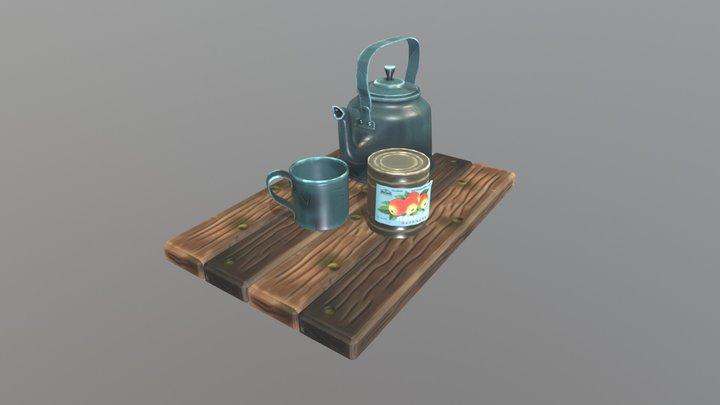 Tea Time 3D Model