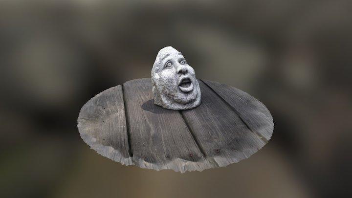 StoneMan 3D Model