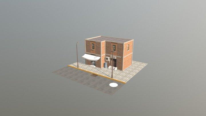 Ejercicio de Texturas en Atlas y Tiling 3D Model