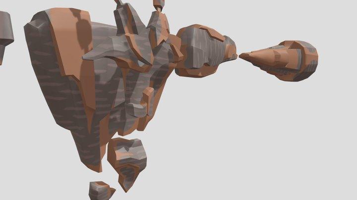 NPC (Rocky) 3D Model
