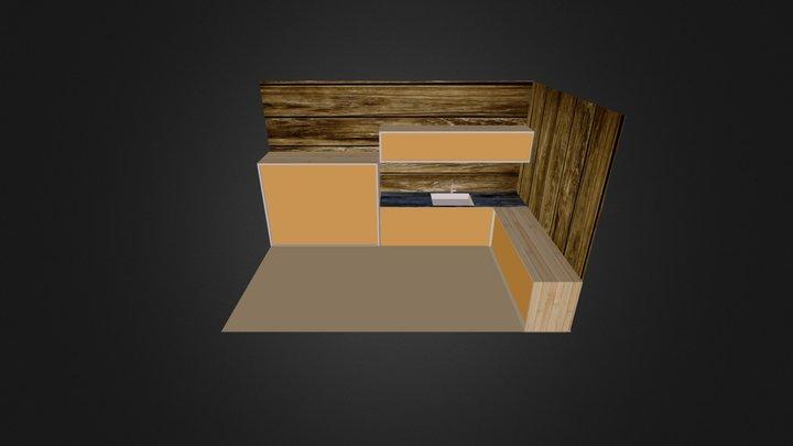 cozinha toko 3D Model