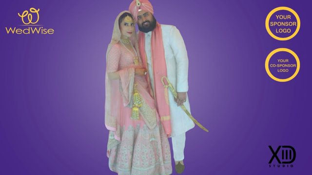 Kanwar and Varinder's Wedding 3D Scan 3D Model