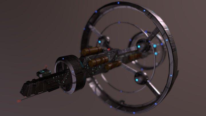 Spaceship Nx-01 3D Model