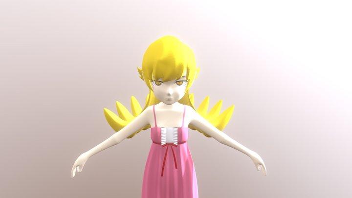 忍 / Shinobu 3D Model