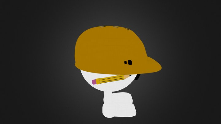 Personnage Moustache 3D Model