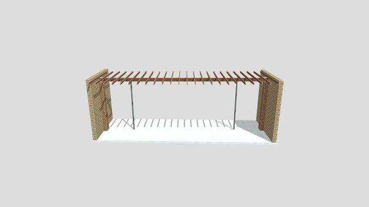 Building Section 3D Model