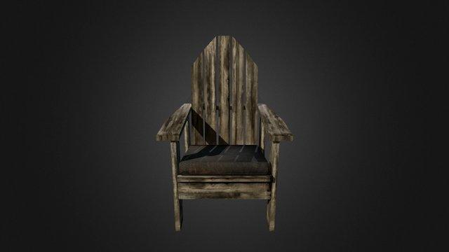 Chair Horror06 3D Model