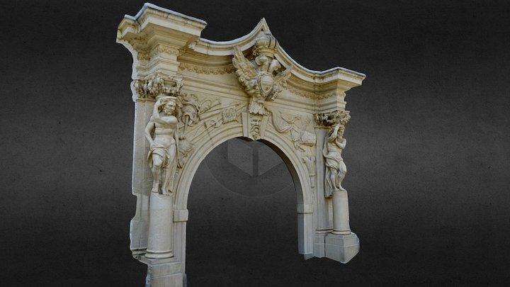 The Fourth Gate_Alba Iulia 3D Model