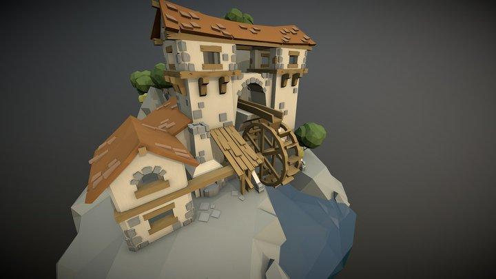 Medieval Times - Blacksmith's Workshop 3D Model