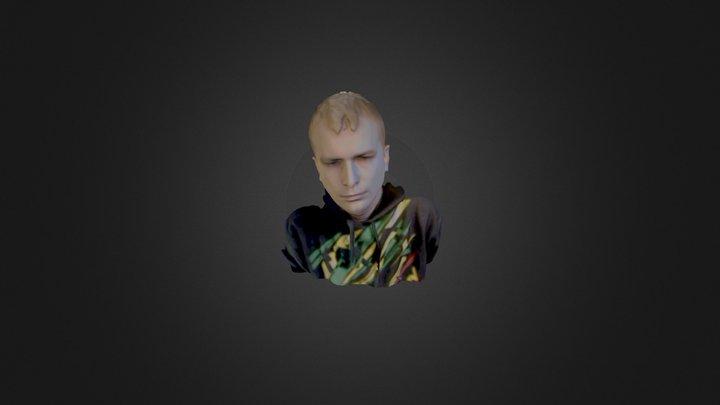 Person face 3D scan - Sense 3D Model