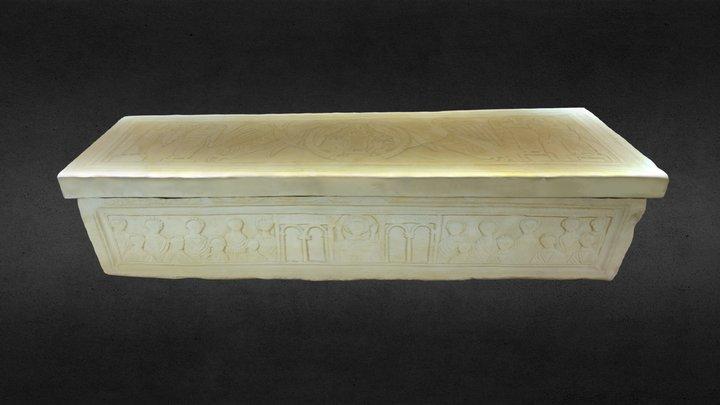 Sarcófago de San Martiño de Dumio 3D Model
