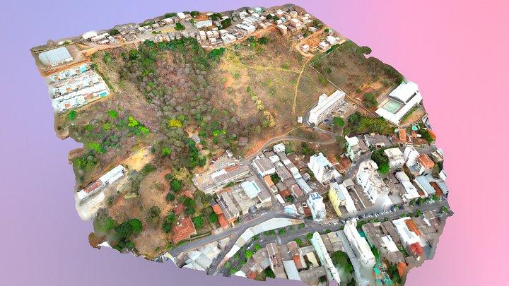 Levantamento aerofotogramétrico Hospital 3D Model
