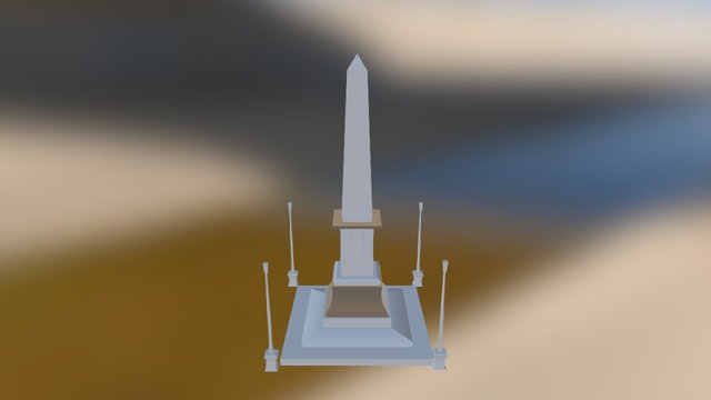 KELVIM OBELISCO 3D Model