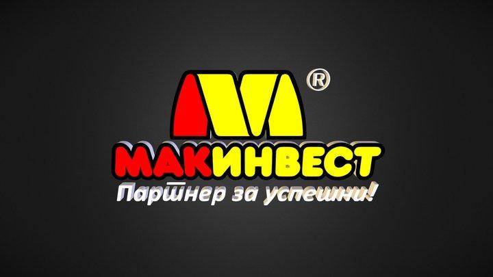 Makinvest Logo 3D Model