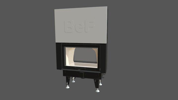 BeF Twin V 8 II 3D Model