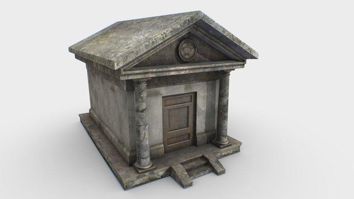 Mausoleum PBR 3D Model