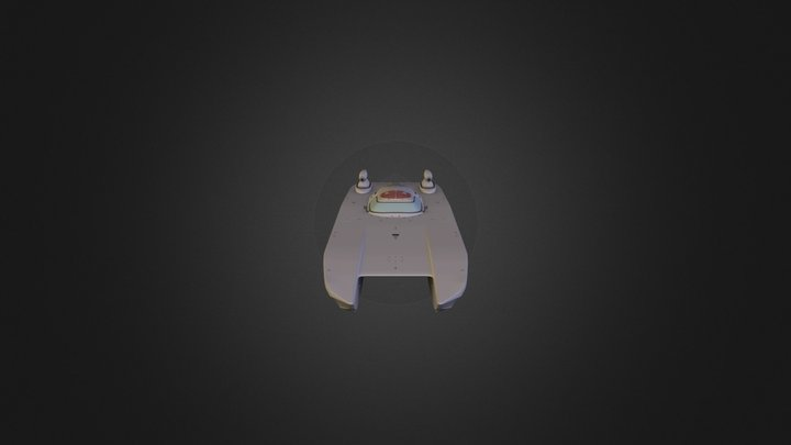 Powerboat 3D Model