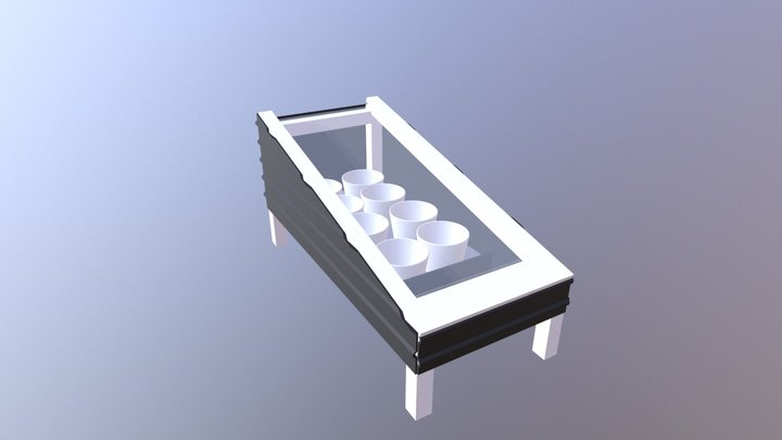 Solar Distillation Unit 3D Model