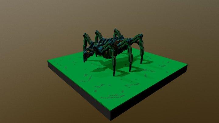 Creature. 3D Model