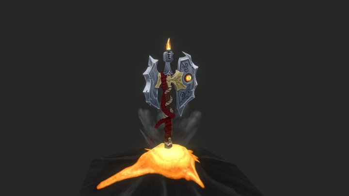 World Of Warcraft - Dragon Weapon 3D Model