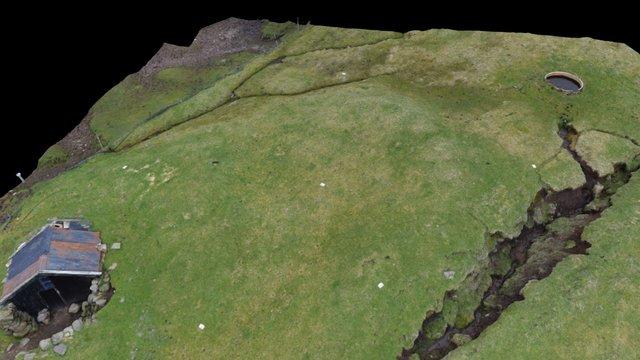Norðradalur, Faroe Islands 3D Model