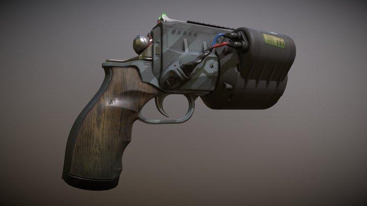 Big Boi Revolver 3D Model