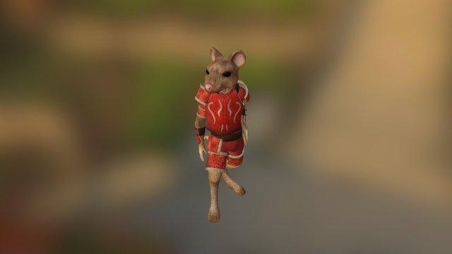 Rat Warrior 3D Model