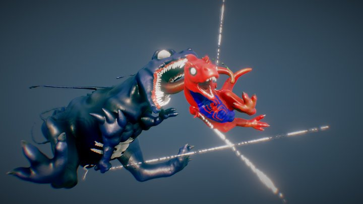 Spider-Saurus 3D Model
