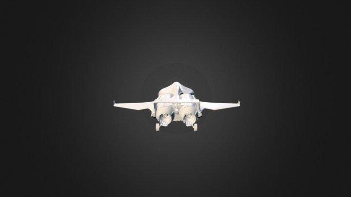 Star Citizen: Origin M50 3D Model