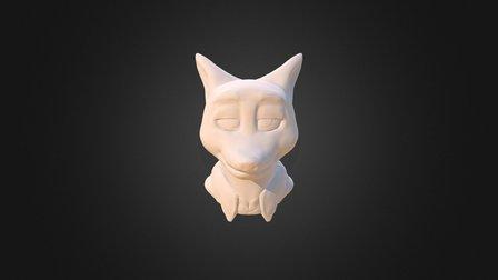 Nick Wilde 3D Model