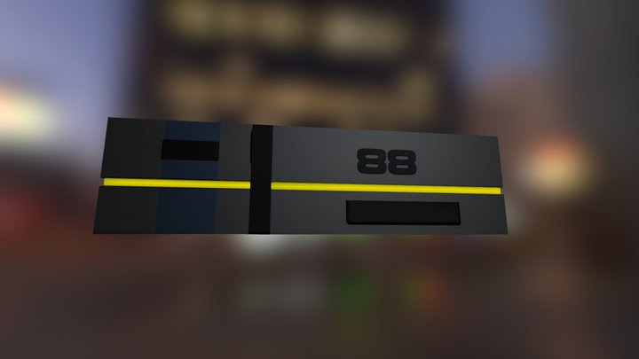 LAb wall 3D Model