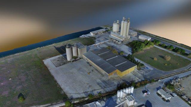 Site Lafarge Ouest 3D Model