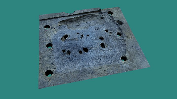 Remains of temple 3D Model