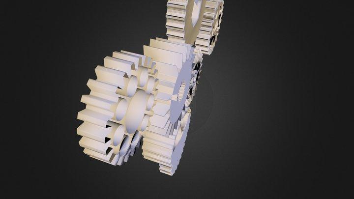 Cogs 3D Model